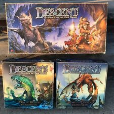 Descent Journeys in the Dark 1st Board Games /Sea Of Blood /Road To Legend Expan