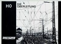Vollmer Prospekt Oberleitung 1960er Modelleisenbahn brochure model railway