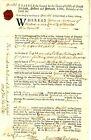 1727 Colonial American EPHRAIM ANDREWS OF NORTON K SUES  MONEY & DEBT & DAMAGE