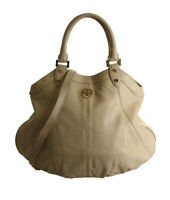 Tory Burch Leather Beige Leather 2- Way Bag