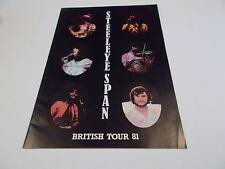 STEELEYE SPAN BRITISH TOUR PROGRAMME 1981