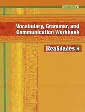 NEW REALIDADES 2014 PRACTICE WORKBOOK LEVEL 4 by PRENTICE HALL