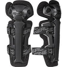 Oneal Mx Adult Pro 2 BMX MTB Dirt Bike Carbon Black Motocross Knee Guards