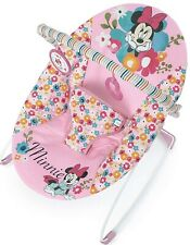 Disney Baby Minnie Mouse Perfect Vibrating Bouncer, Pink. NEW IN BOX!