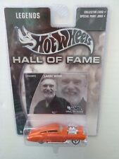 """Hot Wheels Hall of Fame, Larry Wood, Evil Twin car, """"Legends"""" 1:64, Diecast"""