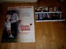 Photos+plakat:  Frankie & Johnny  AL PACINO+MICHELLE PFEIFFER
