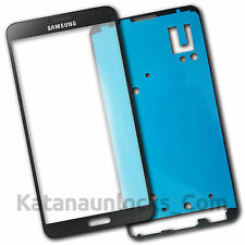 Cristal de pantalla para Samsung Galaxy Note 3 N9000 N9005 Gris con Adhesivo
