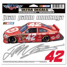 "JUAN PABLO MONTOYA #42 TARGET NASCAR 6"" X 4"" ULTRA DECAL"