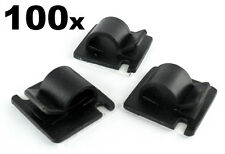 100x Large Self Adhesive Stick-on Mounts for Tidying/ Routing Looms Wire & Cable