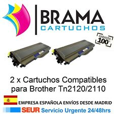 2 xToner Non Oem Brother compatible TN2120 DCP7030 HL2140 HL2170W DCP7040 HL2150