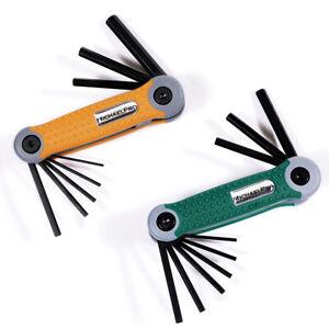 MichaelPro 17pc Folding Hex/Allen Key Wrench Set (Metric & SAE)
