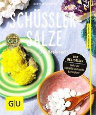 Schüßler-Salze, das Basisbuch, GU, ungelesen, Ladenpreis 12,99 € Auflage 2013/14