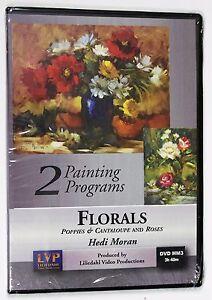 Hedi Moran: Poppies & Cantaloupe and Roses - Art Instruction DVD