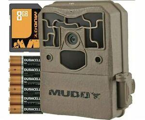 Muddy Pro-Cam 14 Bundle Trail Camera 14MP Photos 70' Detection Range USED ONCE!