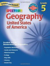 Geography, Grade 5: The United States of America (Spectrum)