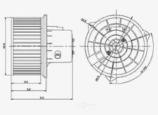 HVAC Blower Motor Global 2311624