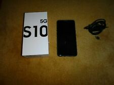 Samsung Galaxy S10 5G - 256GB - Majestic Black  (Einzel-SIM)