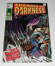 Chamber of Darkness 1 + Dead of Night 1...VG-F grade--A...1969-1973 comic books