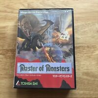 Master Of Monsters - Sega Megadrive MD - Japan JPN - Complete - Retro