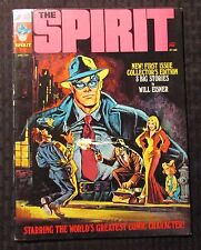 1974 THE SPIRIT Warren Magazine #1 FN 6.0 Author F. Paul Wilson FPW Collection