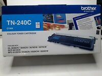 Genuine Brother TN-240C Cyan Toner Cartridge 1,400 Pages TN240 Cyan-