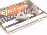 NEW SURPLUS 5PCS. VALENITE  TNMG 433C  GRADE: VC125  CARBIDE INSERTS