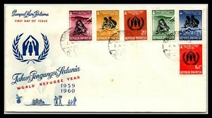GP GOLDPATH: INDONESIA COVER 1960 FIRST DAY OF ISSUE _CV700_P02