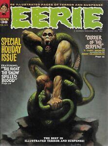 "WARREN (1972) EERIE #38 - February - ""Carrier of the Serpent""  - 9.0 VF/NM"