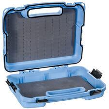 NEW MONTANA FLY COMPANY SALT BOAT FLY BOX IN LIGHT BLUE WITH XL SLIT FLY FOAM
