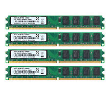 NEW RAM 8G 4X 2G DDR2 2RX8 PC PC2-6400U 800MHz DIMM Memory Kit Desktop For Intel