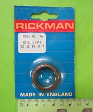 Rickman NOS Early 125 Zundapp MX & Enduro 20 x 30 x 7 Oil Seal p/n R068 05 016