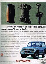 Publicité advertising 1991 Toyota land Cruiser 4X4