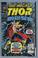 Thor #450 1992 Anniversary Super Sized Ron Frenz Pat Olliffe Marvel Comics