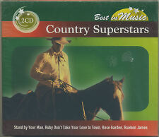 COUNTRY SUPERSTARS 2 dischi - CD NUOVO
