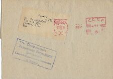 1936 Metered Mail Cover from Moscow, U.S.S.R. to Peoria, Il, Usa