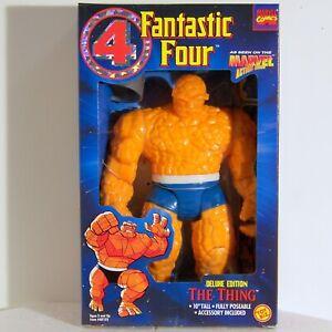 "FANTASTIC FOUR  10""  The THING  Ben Grimm  Action Figure  1995  ToyBiz  Unopened"