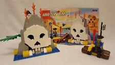 Vintage 1996 Lego Pirates #6248-1 Volcano Island - 100% Complete w/Instructions