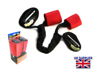 Tie Down Straps for Transporting Classic Cruiser Race Motorbike