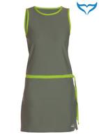 iQ UV 300 Tunika Kleid Damen XS S M L XL XXL olive grün Schutz Strand Sport NEU