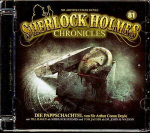 SHERLOCK HOLMES CHRONICLES  # 81 die pappschachtel CD gebr. wie neu