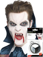 Adults Vampire Make Up Halloween Face Paint Ghoul Fancy Dress Costume Accessory