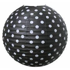 6 x Jabadabado X6009 Paper Lantern Ceiling Shade Black 50Cm Joblot Joblot 50 cm*