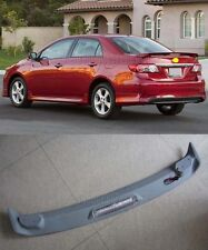 Factory Style Spoiler Wing for 2009-2013 Toyota Corolla with Light 4dr Sedan ABS