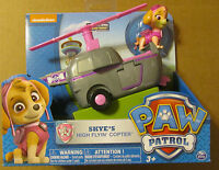 Nickelodeon PAW PATROL SKYE'S HIGH FLYIN' COPTER with figure ~ NIP ~ SKYE