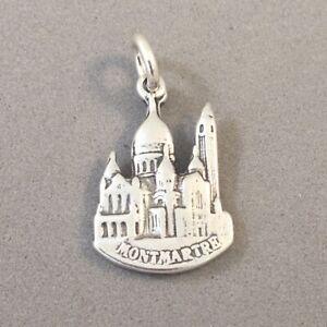 .925 Sterling Silver MONTMARTRE CHARM Sacre Coeur Paris France NEW 925 TF06