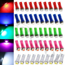 50pcs/Set T5 LED Speedometer Instrument Gauge Cluster Dash Light Bulbs