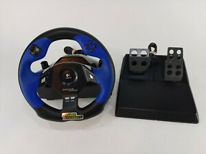 Logitech Driving Force E-UC2 Steering Wheel & Pedals for PS2 Playstation 2