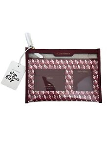 Anya Hindmarch Leather Safe Deposit Bag/wallet