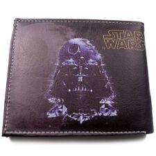 NEW Star Wars The Dark Side Leather Short Coins Bag Wallet Purse Bi-Fold