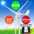 300W 24V Wind Turbine Generator 3 Blade - Digital Hybrid Wind/Solar Controller!!